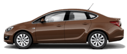 Opel Astra me 4 dyer